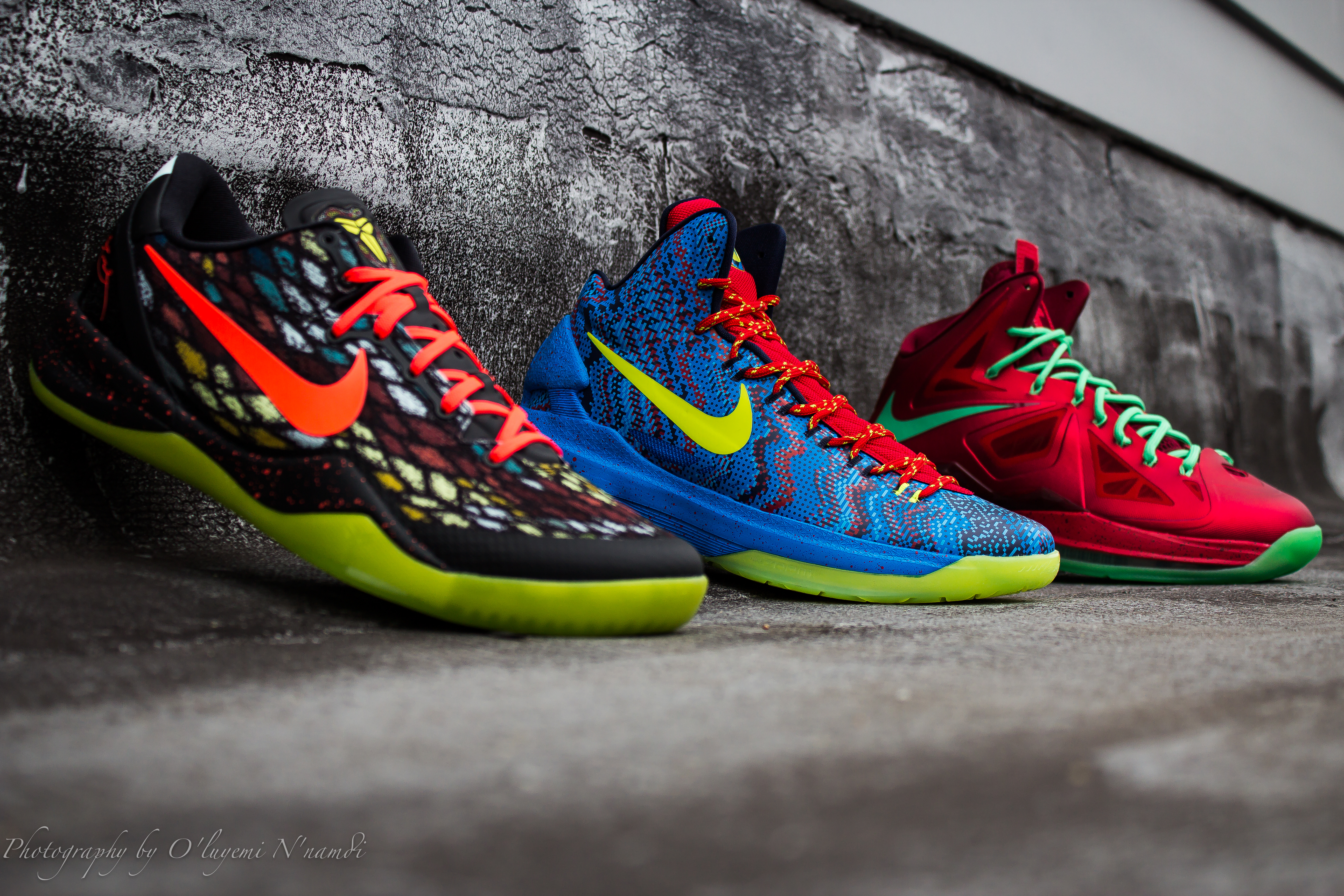 """NIKE BASKETBALL """"CHRISTMAS PACK"""" (Release info) – PACKER SHOES"""