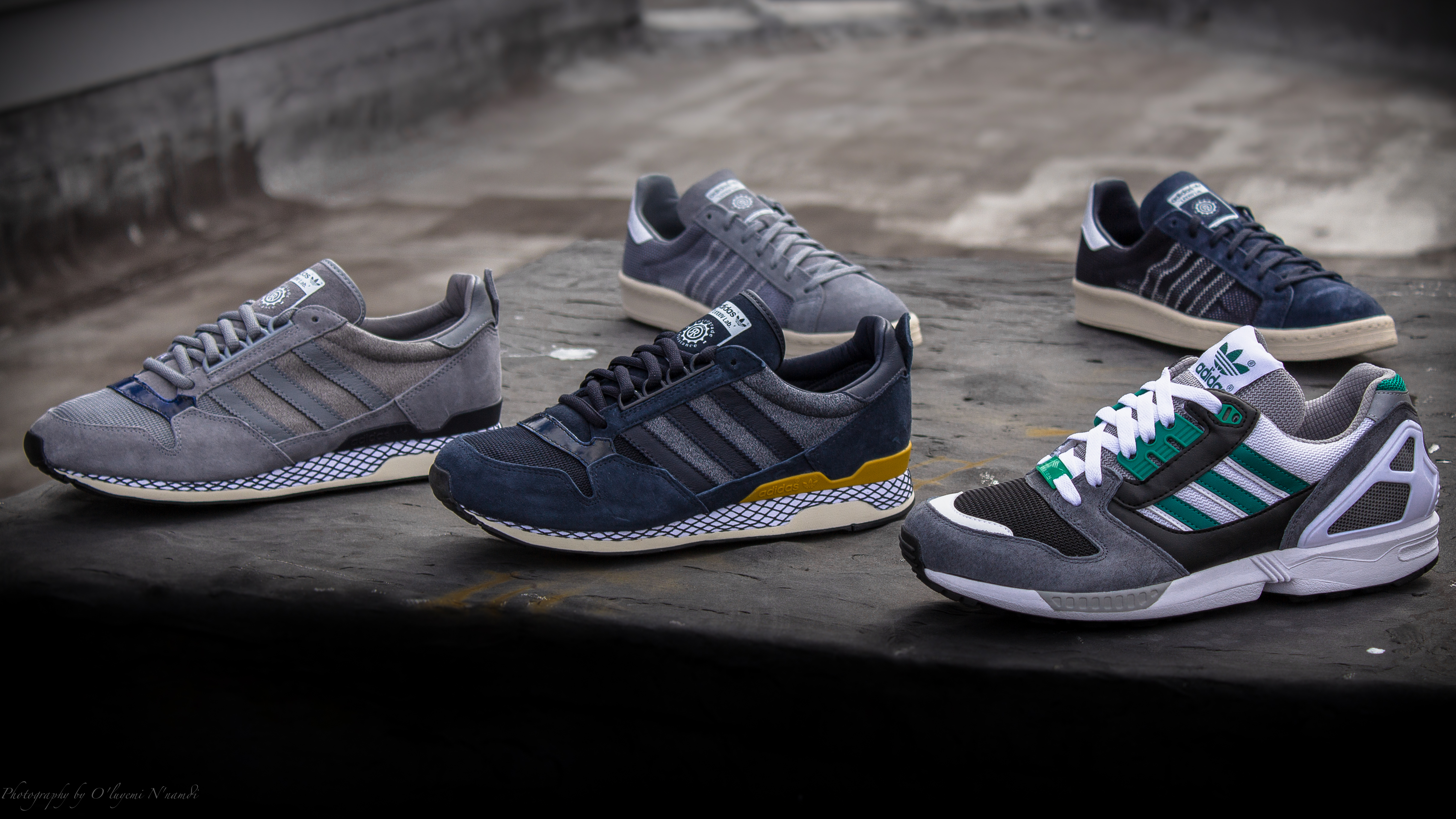 Mita x adidas zx 8000 & kazuki 84 raccolta @ packer scarpe