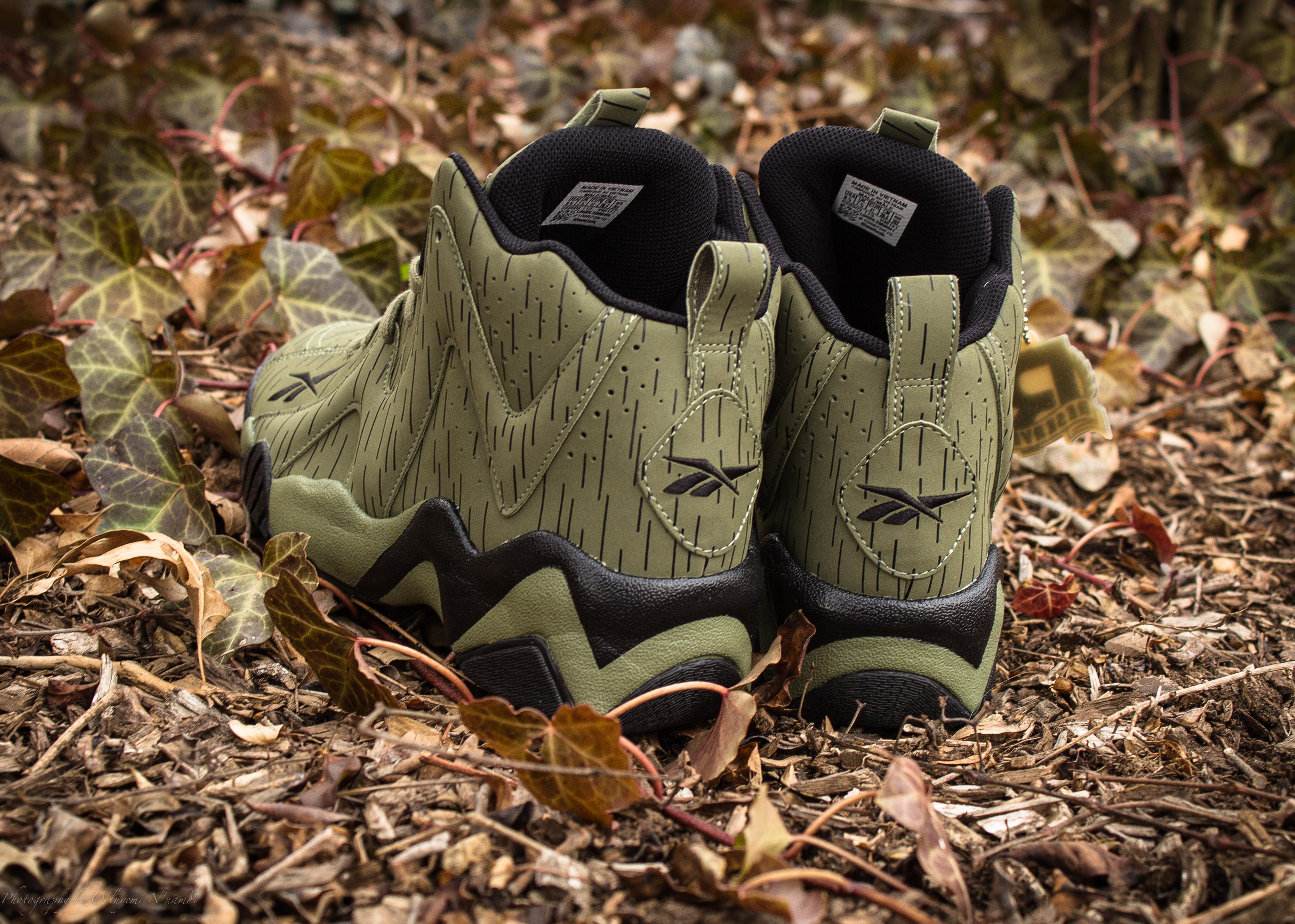 reebok kamikaze ii �reignman� � olive packer shoes