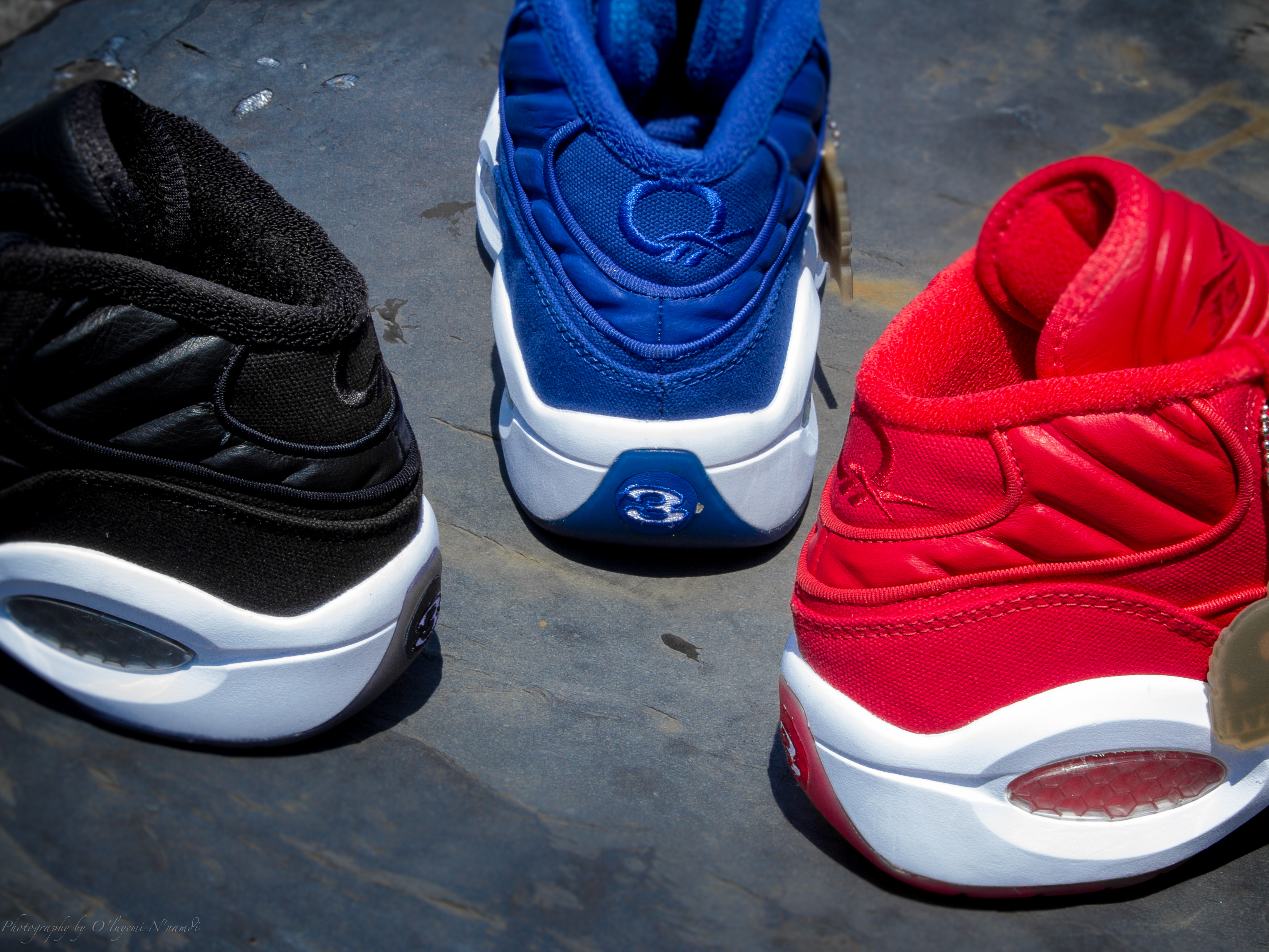 Reebok Question Mid Curreny Jet Life  CN3671