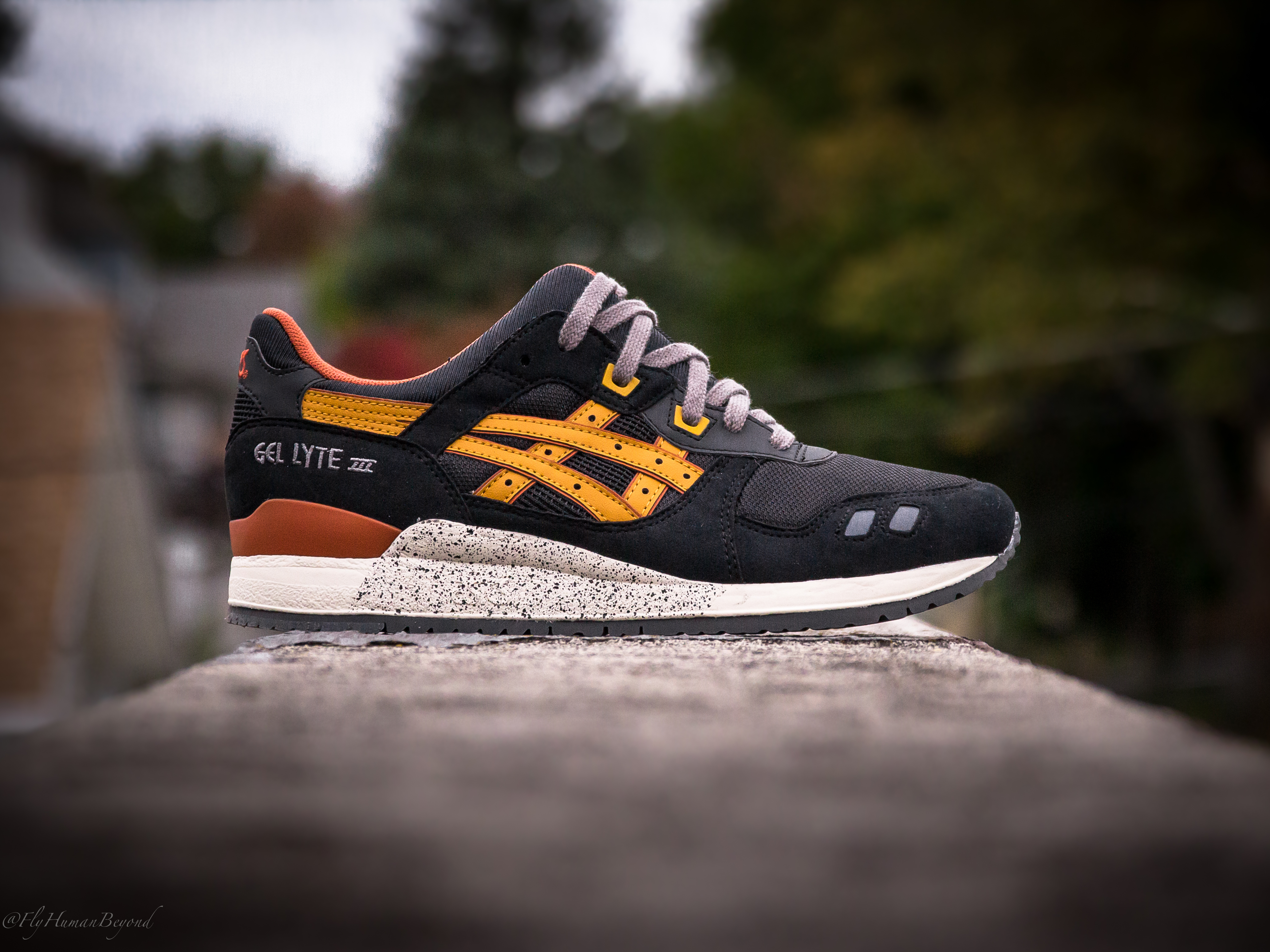 asics gel lyte iii black tan now available packer shoes packer shoes. Black Bedroom Furniture Sets. Home Design Ideas