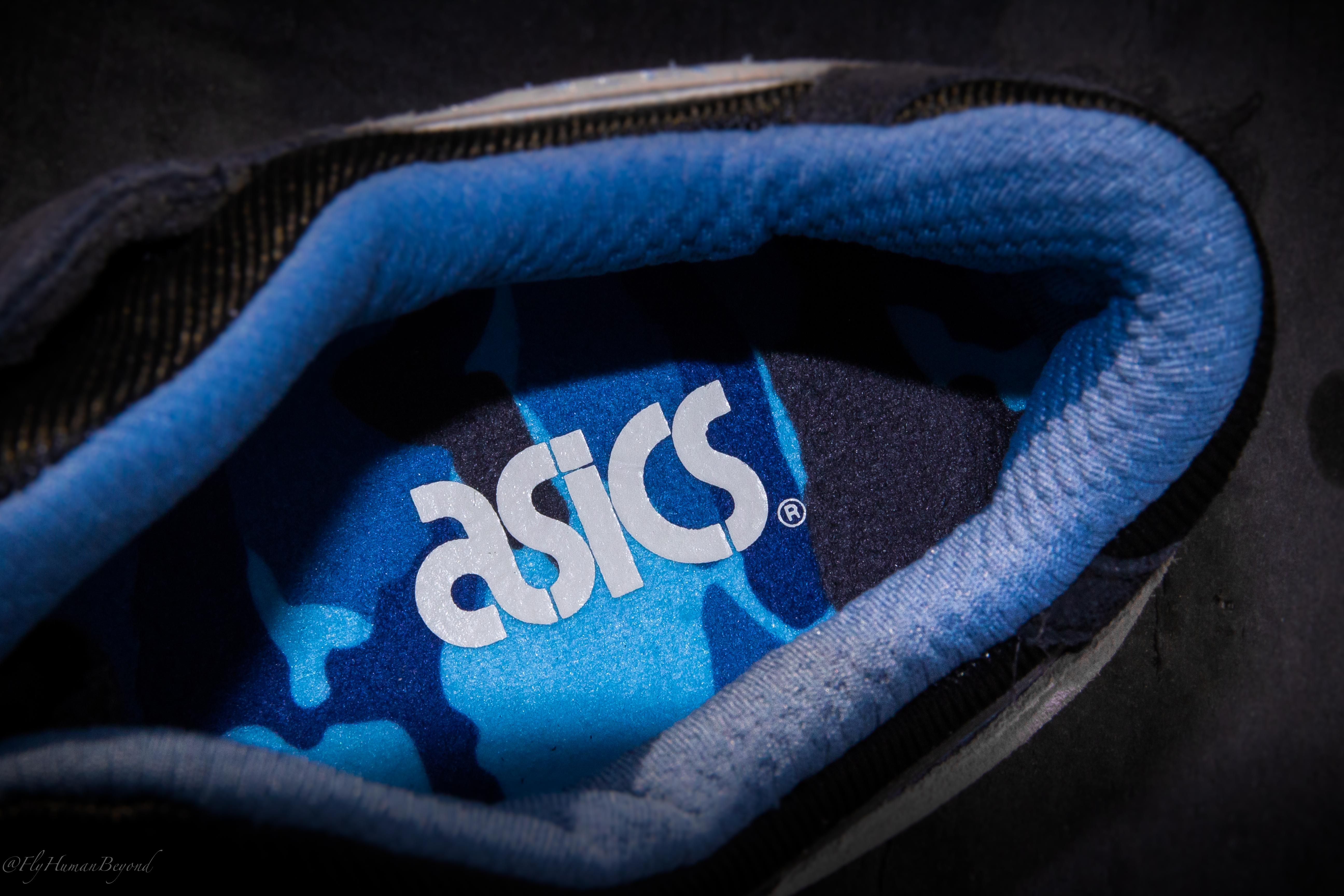 Asics Gel De Lyte Iii Paquete De Camuflaje (gris / Azul Capitán) 17DNiX