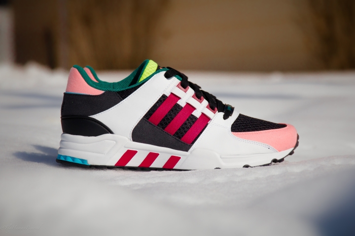 ADIDAS EQT CUSHION RED SUPPORT MULTI-1