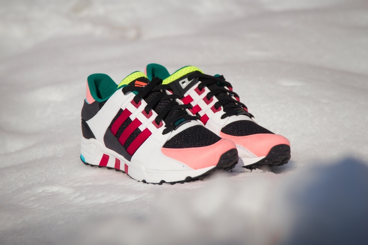 ADIDAS EQT CUSHION RED SUPPORT MULTI-2
