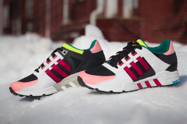 ADIDAS EQT CUSHION RED SUPPORT MULTI-7