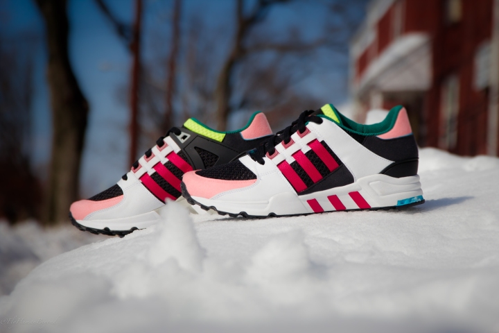 ADIDAS EQT CUSHION RED SUPPORT MULTI-8