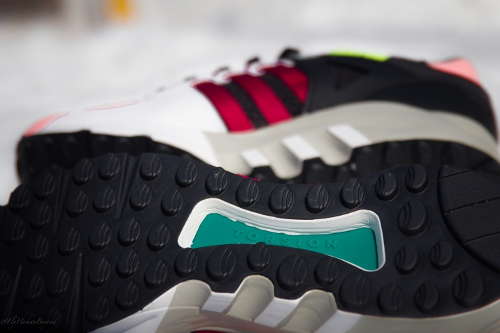 ADIDAS EQT CUSHION RED SUPPORT MULTI-9