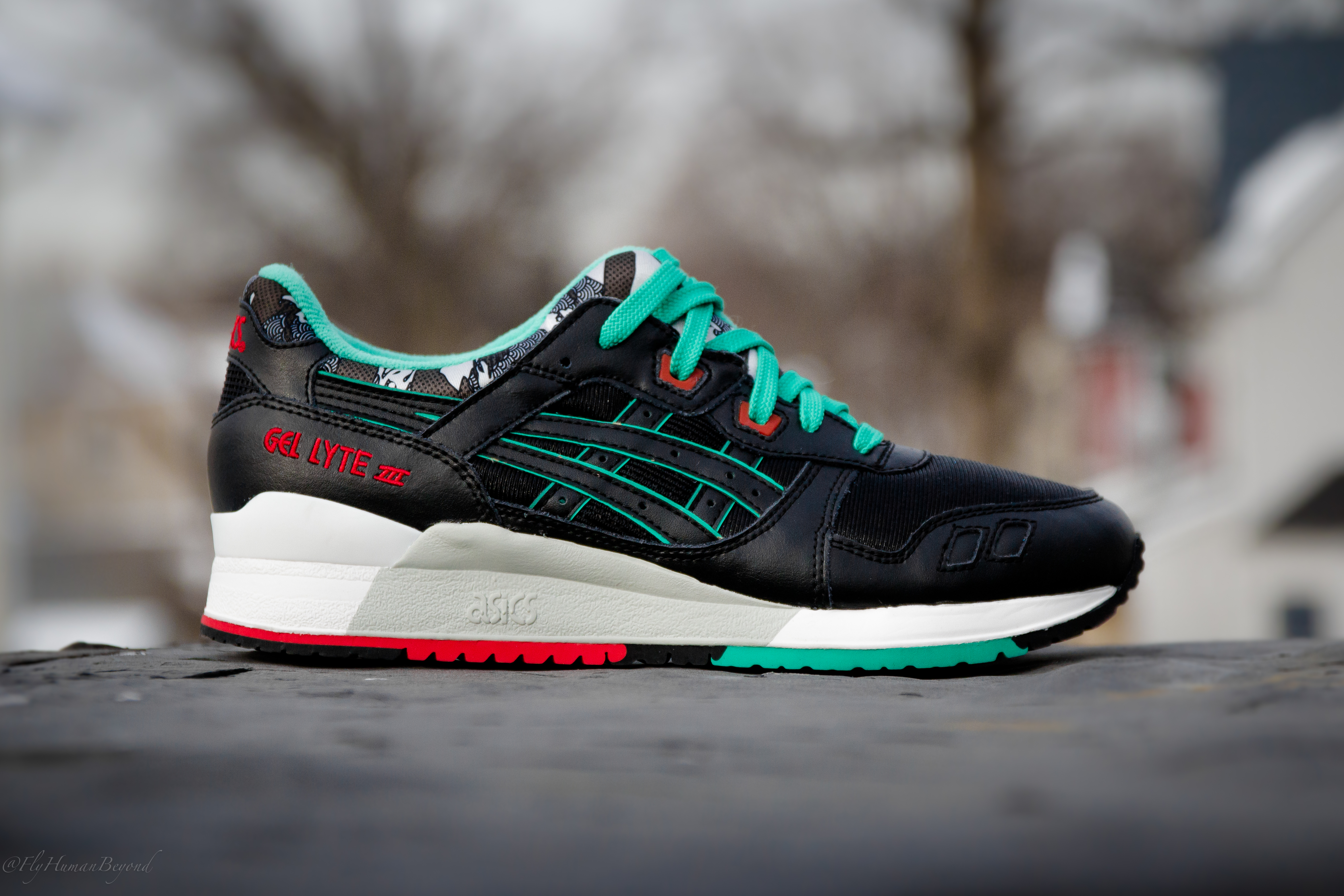 asics gel lyte 3 future camo on feet
