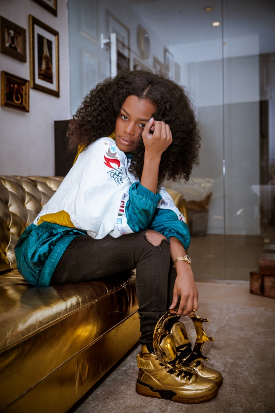 TEYANA TAYLOR FOR PACKER SHOES - IMAGES BY @FLYHUMANBEYOND-3