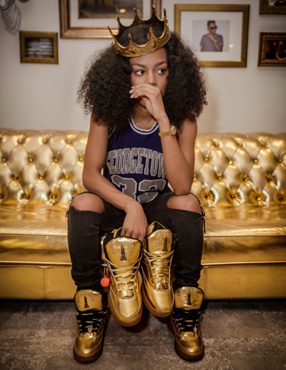 TEYANA TAYLOR FOR PACKER SHOES - IMAGES BY @FLYHUMANBEYOND-8