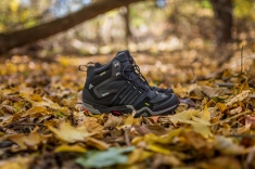 Adidas Outdoor Terrex Fast X High GTX Black/Light Scarlet $185 USD