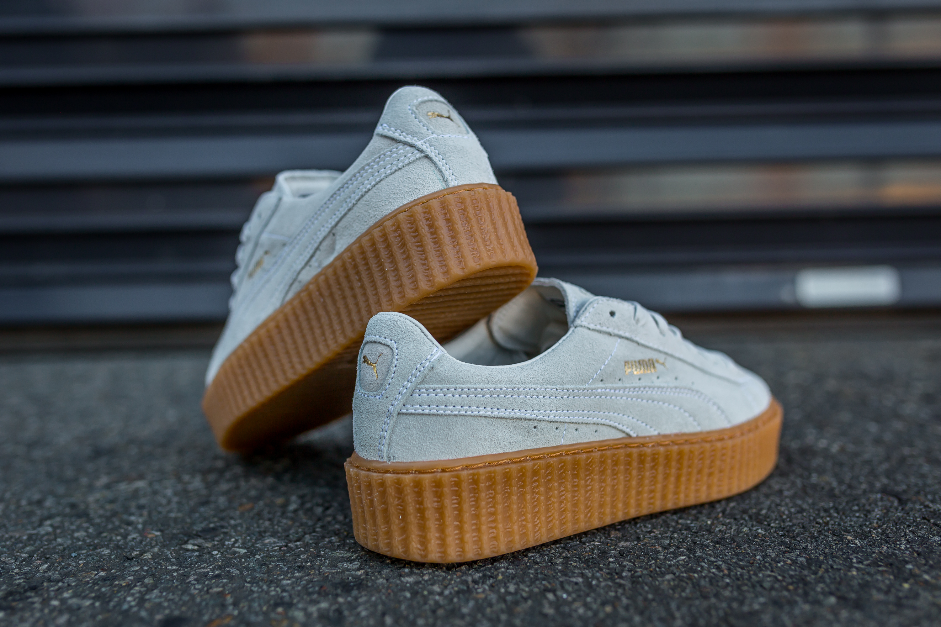 best sneakers 230af f37aa bellapesto: Puma x Rihanna Suede Creepers – PACKER SHOES