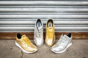 Asics Gel Lyte III Silver and Gel Lyte V Gold-2