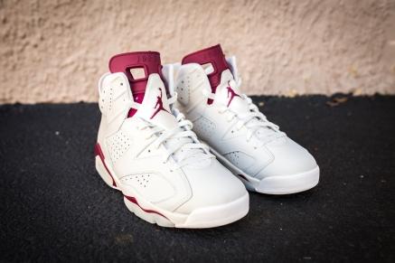 Jordan VI White-Maroon-3