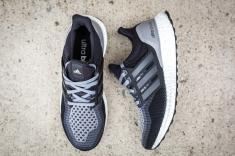 adidas Womens Ultra Boost Core Black/Grey