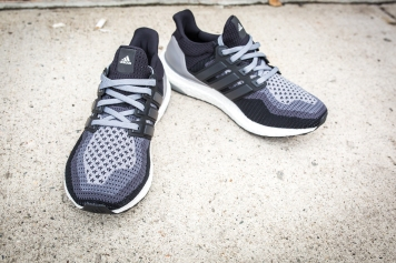 adidas Womens Ultra Boost Core Black-Black-Grey