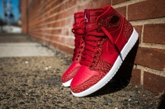 Air Jordan 1 Retro High Gym Red/White - Team Red-White ($140)
