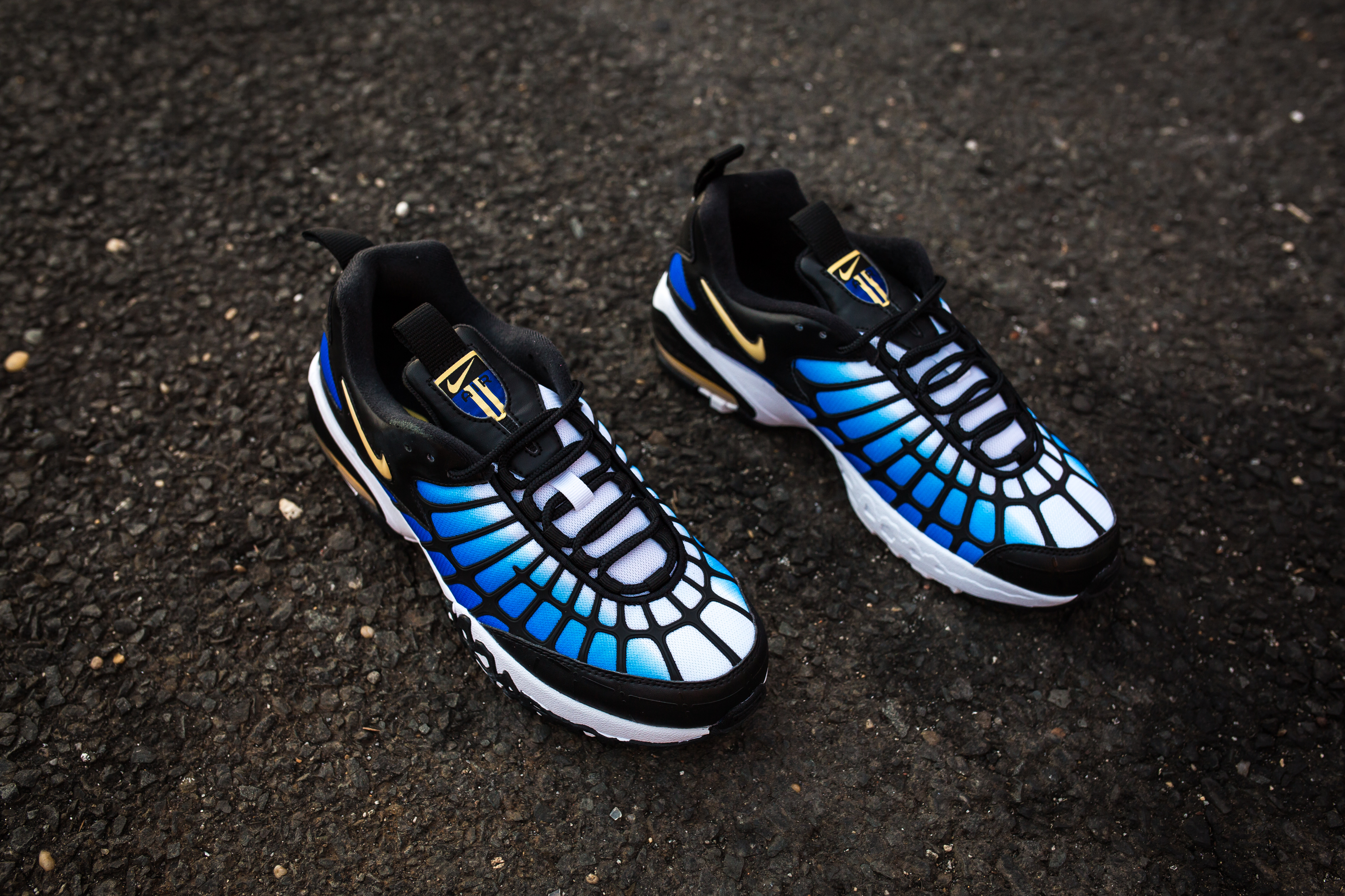 Nike Air Max 120 Hyper Blue- Chamois-Black-White-2 . e9843bd3c