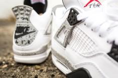 Air Jordan IV Retro OG - White/Cement