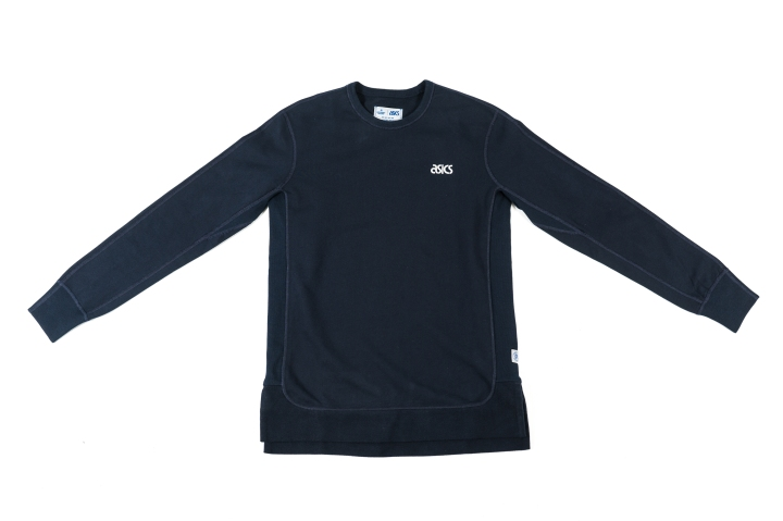 Reigning Champ x Asics Clothing Blue Crew-1