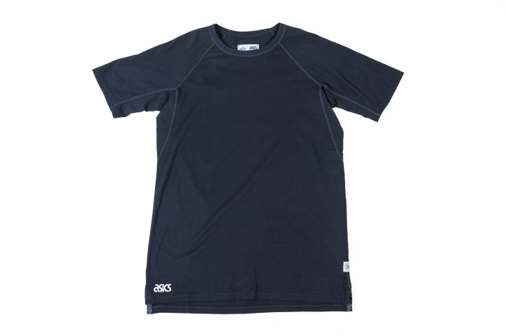 Reigning Champ x Asics Clothing Blue Tee-1