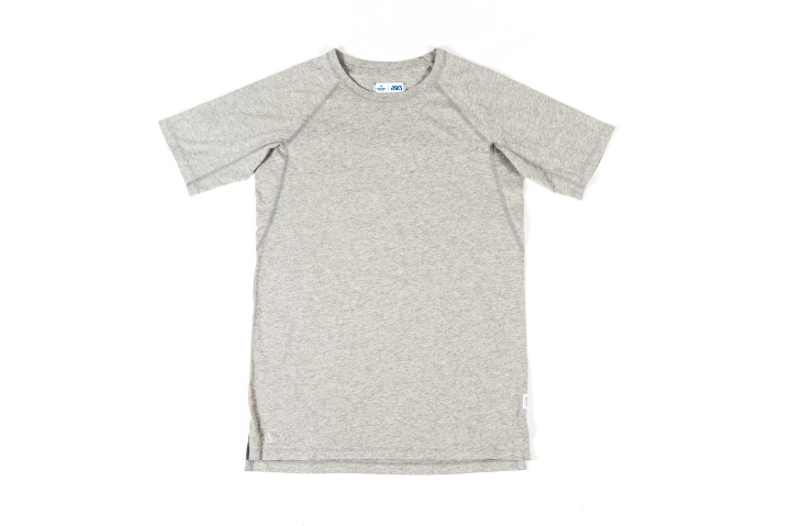 Reigning Champ x Asics Clothing Grey Tee-1