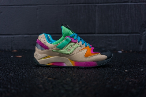 Shoe Gallery x Saucony Grid 9000 $140