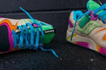 Shoe Gallery x Saucony Grid 9000 $140