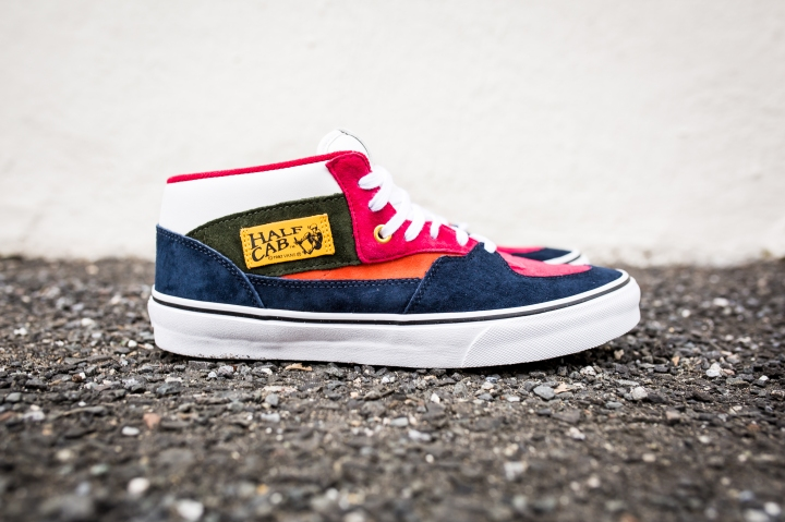 "Vans 'Year of the Monkey"" Half Cab Multi-Suede-Leather -1"