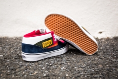 "Vans 'Year of the Monkey"" Half Cab Multi-Suede-Leather -10"