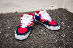 "Vans 'Year of the Monkey"" Half Cab Multi-Suede-Leather -11"