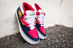 "Vans 'Year of the Monkey"" Half Cab Multi-Suede-Leather -2"