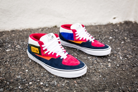 "Vans 'Year of the Monkey"" Half Cab Multi-Suede-Leather -3"