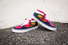 "Vans 'Year of the Monkey"" Half Cab Multi-Suede-Leather -4"