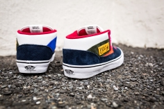 "Vans 'Year of the Monkey"" Half Cab Multi-Suede-Leather -5"
