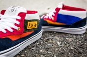 "Vans 'Year of the Monkey"" Half Cab Multi-Suede-Leather -7"