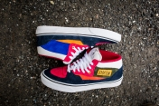 "Vans 'Year of the Monkey"" Half Cab Multi-Suede-Leather -9"