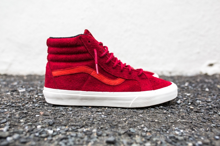 "Vans 'Year of the Monkey"" SK8-Hi Red-Suede-1"