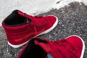 "Vans 'Year of the Monkey"" SK8-Hi Red-Suede-10"