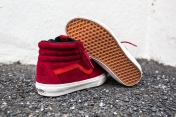 "Vans 'Year of the Monkey"" SK8-Hi Red-Suede-11"