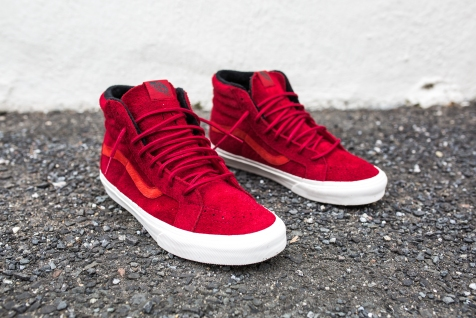 "Vans 'Year of the Monkey"" SK8-Hi Red-Suede-2"