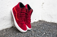 "Vans 'Year of the Monkey"" SK8-Hi Red-Suede-3"
