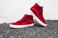 "Vans 'Year of the Monkey"" SK8-Hi Red-Suede-4"