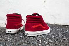 "Vans 'Year of the Monkey"" SK8-Hi Red-Suede-5"