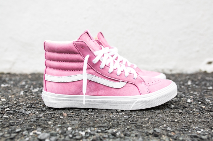 "Vans 'Year of the Monkey"" SK8-Hi Slim Pink-Leather-1"