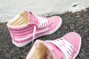 "Vans 'Year of the Monkey"" SK8-Hi Slim Pink-Leather-10"