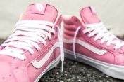 "Vans 'Year of the Monkey"" SK8-Hi Slim Pink-Leather-7"