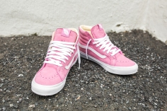 "Vans 'Year of the Monkey"" SK8-Hi Slim Pink-Leather-8"