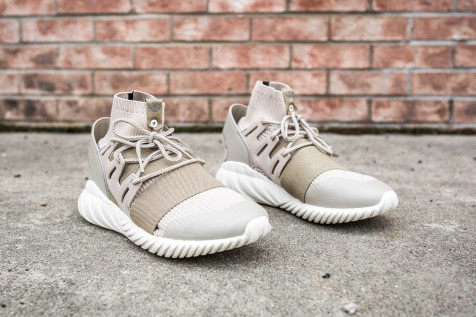 adidas Tubular Doom PK 'Special Forces' Dussan-Hemp-Ash web crop angle