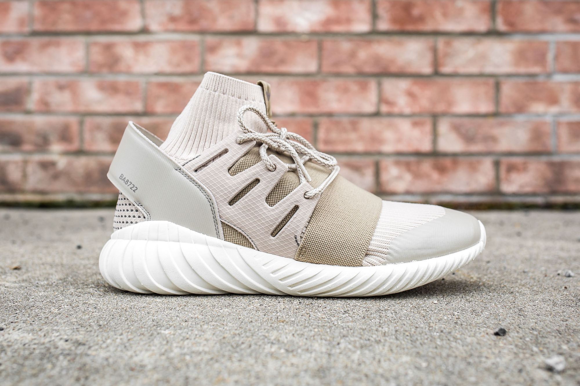 adidas Originals Shoes Tubular Doom Sock PK Sesame/Sesame